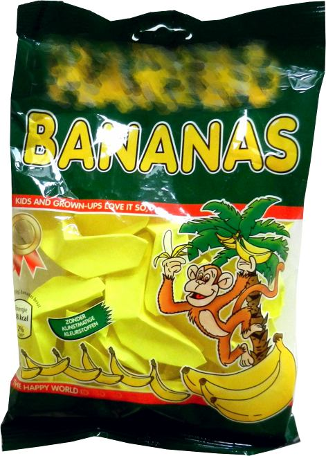 bananensnoepjes