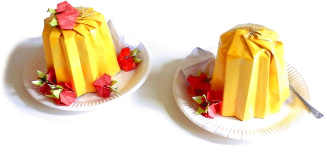 Origami Food Images Coloring Pages Adult