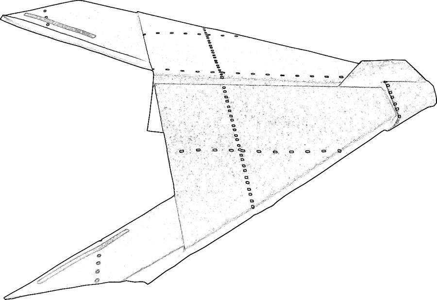 kleurplaat straaljager stealth bomber