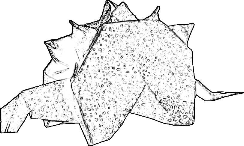 Kleurplaten Van Dino S.Kleurplaat Van Een Stegosaurus Dino