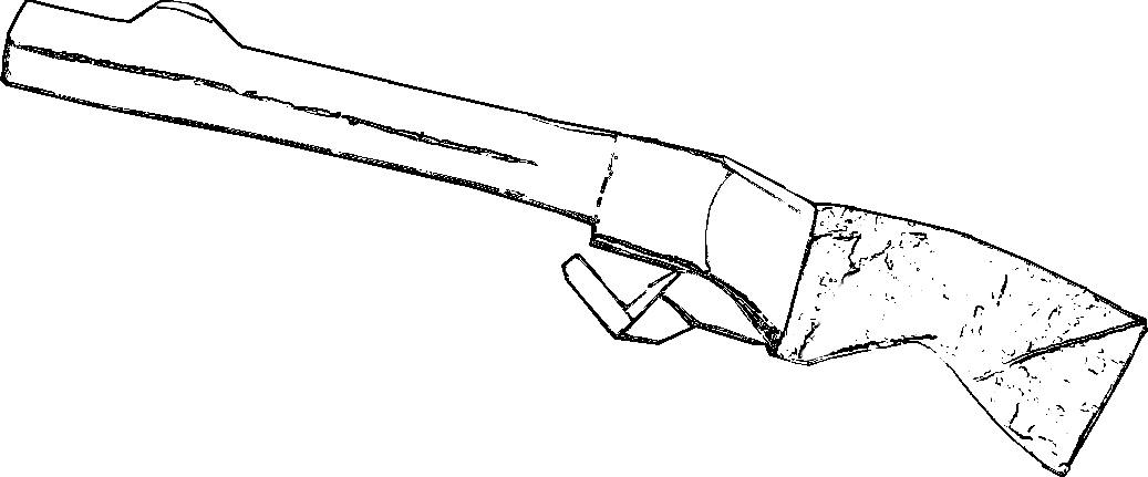Shotgun coloring pictures coloring pages for Shotgun coloring pages