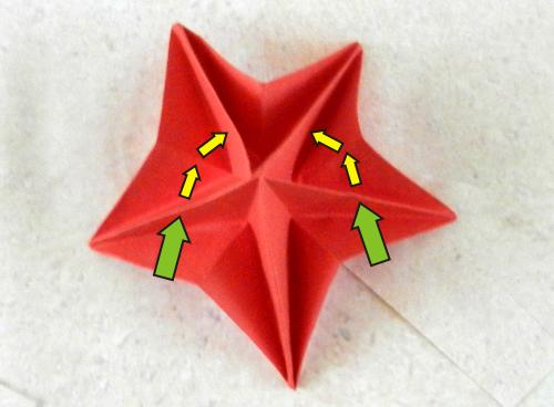 How to make ORIGAMI FIVE PETAL FLOWER I DIY ORIGAMI FIVE PETAL ... | 368x500