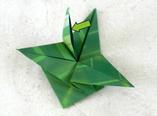 Easy Origami Leaf Folding Instructions | 371x500