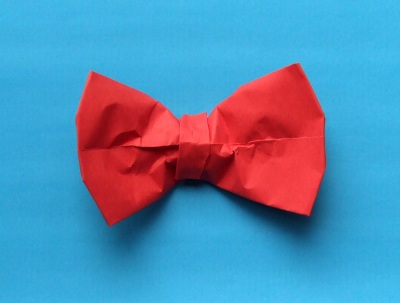 ORIGAMI BOW TIE « EMBROIDERY & ORIGAMI - photo#34