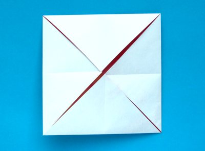 手工折纸大全图解之小螃蟹的折纸方法教程