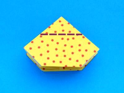 ORIGAMI CUP DIRECTIONS « EMBROIDERY & ORIGAMI - photo#36