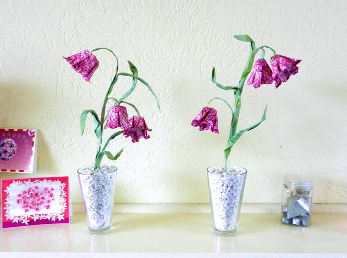 Joost langeveld origami page origami fritillary flowers mightylinksfo