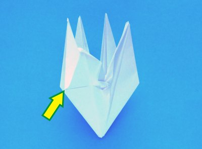 How to make an origami lily with six petals: page 1 | 296x400