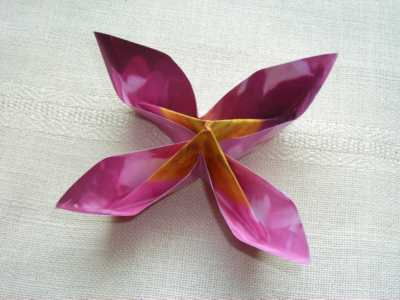 CD Cover Flower Pattern, page 2 - Origami Resource Center