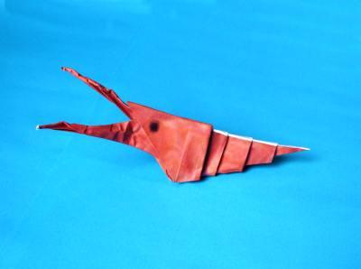 Origami Goose Seal An Shrimp