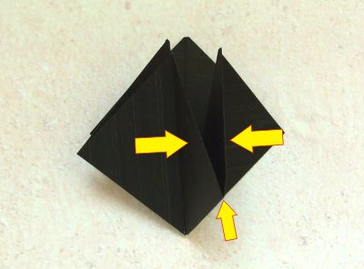 diagrams for an advanced origami spider