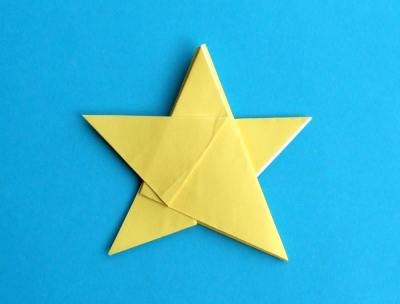 Origami Star Box Step 4
