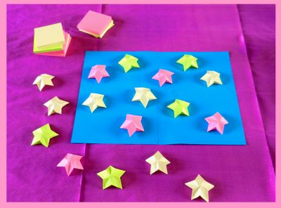 Origami With Sticky Notes Instructions