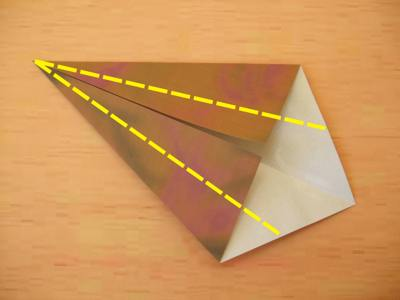diagrams for an origami tie