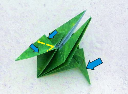 Origami T Rex Dino Step By Folding Instructions