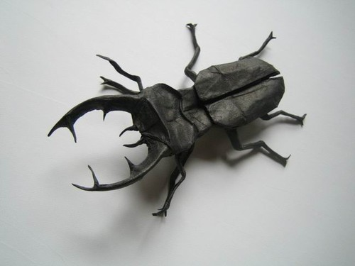I (c)Ant Believe How Complex and Realistic these Origami Insects Look! | 375x500