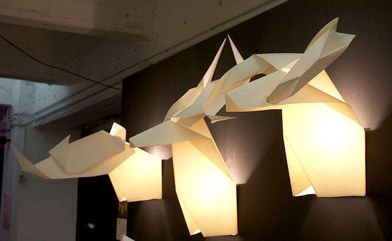 Joost langeveld origami pagina for Lampen papier