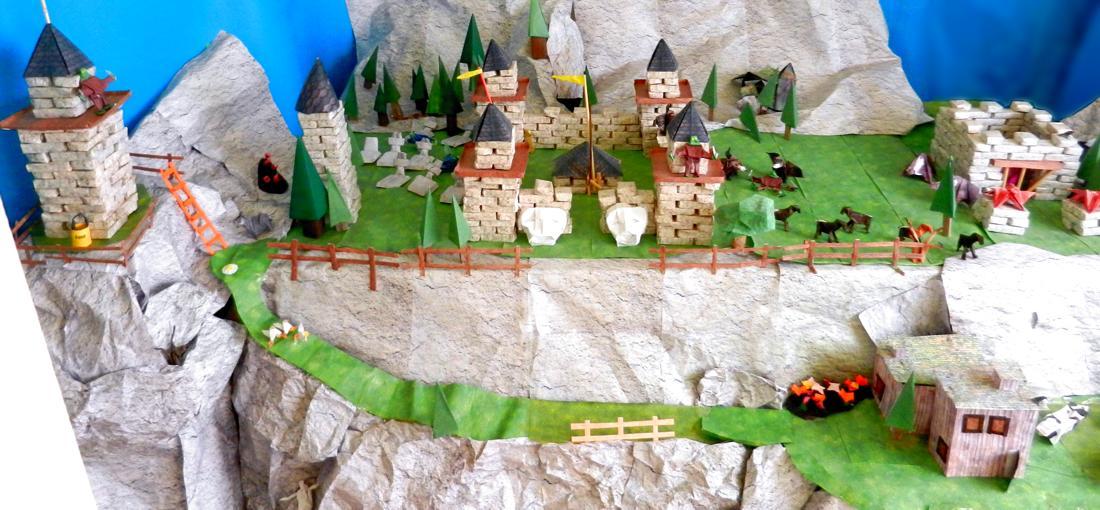 ORILAND - Origami Castle of Oriville Kingdom Created and...   Facebook   510x1100
