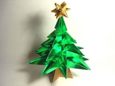 Joost langeveld origami page - Arbol de navidad de origami ...