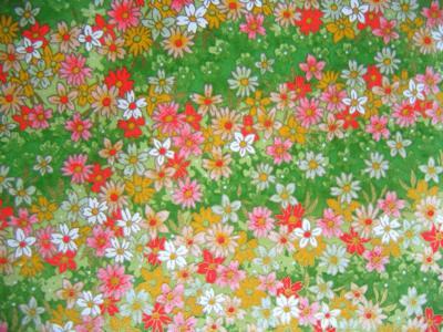 Lokta Paper Origami Pack - Blossom - BLUE ON NATURAL | 300x400