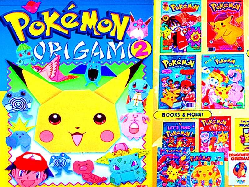 pokemon origami book tutorial origami handmade